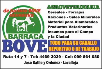 Agroveterinaria Barraca BOVE