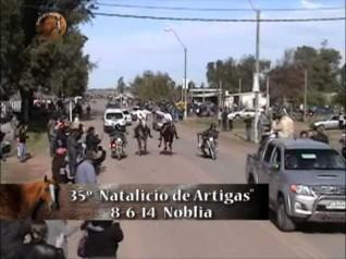 """Raid Sobre 90 km. - 35° Ed. """"Natalicio de Artigas"""" Club Hípico los Potros - Noblia"""