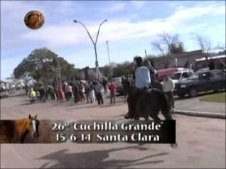 "Raid sobre 90 km - 26º Edición ""Cuchilla Grande"" - Santa Clara 2014"
