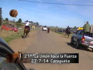"Raid 90 km. - 21° Ed. ""La Unión hace la Fuerza"" - Soc. F. Rural de Caraguatá - Caraguatá"