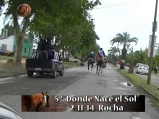 "Raid 90 km. - 5° Ed. ""Donde Nace el Sol"" Club Atlético Lavalleja - Rocha"